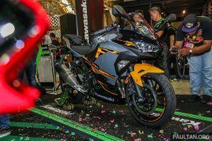 Kawasaki Ninja 250 2018 có giá bán 132 triệu đồng tại Malaysia