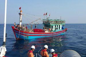 Huy động tàu thuyền tìm kiếm ngư dân mất tích trên biển