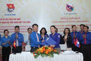 Thành Đoàn TPHCM ký kết hợp tác với Đoàn Thanh niên Thủ đô Viêng Chăn