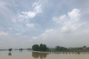 Nước dâng cao đến mức nguy hiểm, Hà Nội dồn lực ứng phó