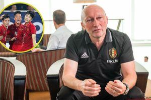 GĐKT LĐBĐ Bỉ: Cầu thủ U23 Việt Nam đừng quá mải mê đi quảng cáo