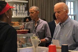 Cựu Tổng thống và Phó Tổng thống Mỹ Obama-Biden hẹn ăn trưa bình dị