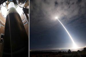 Tên lửa đạn đạo xuyên lục địa của Mỹ bị phá hủy trên Thái Bình Dương