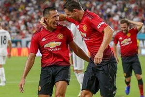 Cận cảnh Alexis Sanchez tỏa sáng giúp M.U đánh bại Real Madrid