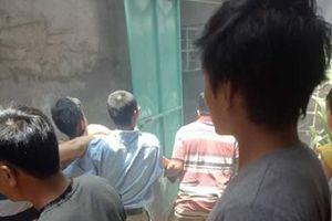 Nổ bình gas, 2 học sinh bị thương nặng, người bê bết máu