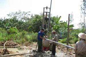 Sơn La: Tăng cường thanh, kiểm tra các tổ chức, cá nhân hoạt động khoan nước dưới đất