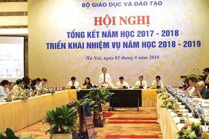 Hôm nay, Bộ trưởng Nhạ tiếp tục nhận trách nhiệm kỳ thi THPT