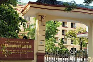 Sau Sơn La, Hà Giang, tiếp tục phát hiện bất thường thi trắc nghiệm ở Hòa Bình