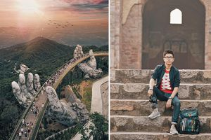 Chàng trai Malaysia nổi tiếng sau một đêm với bức ảnh chụp cầu Vàng Đà Nẵng gây bão MXH