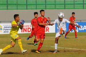 Thi đấu bạc nhược, U16 Việt Nam thảm bại trước U16 Indonesia