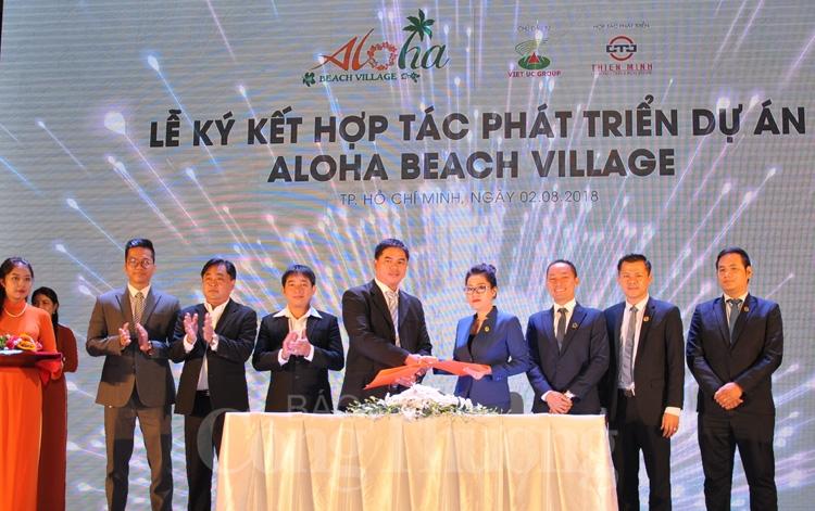 Thiên Minh 'bắt tay' Việt Úc phân phối độc quyền dự án Aloha Beach Village giai đoạn 2
