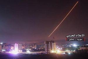 Bị uy hiếp ngay cửa ngõ Damascus, phòng không Syria tung đòn phá hủy