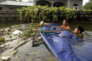 Hà Nội vẫn còn hơn 3.500 ha ngập trong nước