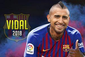 Barcelona chính thức đạt thỏa thuận chiêu mộ Vidal