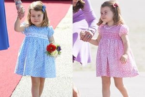Vì sao công chúa Charlotte, trẻ em Hoàng gia Anh chỉ mặc váy nữ tính?