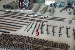 Thánh chiến đại bại, quân đội Syria chiếm giữ tên lửa TOW Mỹ ở Quneitra