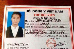 'Siêu thầy lang' Văn Đình Tân chưa tốt nghiệp đã được kết nạp hội viên Hội Đông y Việt Nam
