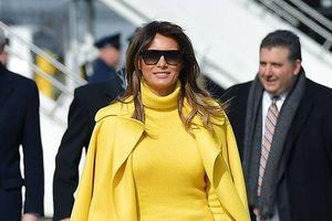 Ngắm gu thời trang đẳng cấp của Đệ nhất phu nhân Melania Trump