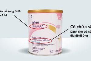 Cần chú ý điều gì khi đọc nhãn sữa ngoại?