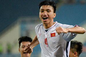 Olympic VN vs Olympic Oman (1-0): Đoàn Văn Hậu ghi bàn đẹp mắt