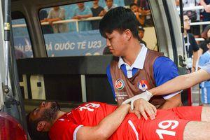 Cầu thủ Palestine đi cấp cứu sau chiến thắng lịch sử trước Uzbekistan