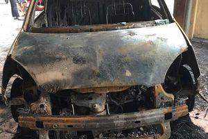 Điều tra nguyên nhân ô tô của đại úy CSGT bị cháy trước trụ sở