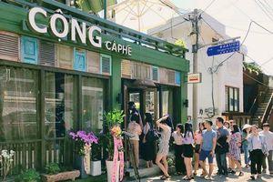 Giới trẻ Hàn Quốc 'rồng rắn' thưởng thức cà phê Cộng