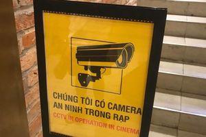 CGV đặt biển báo có camera trong rạp sau vụ ảnh nóng trên ghế sweetbox