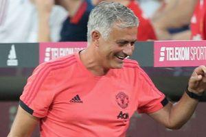 HLV Mourinho thở phào sau loạt trận giao hữu