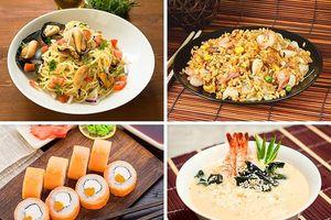 Trải nghiệm ẩm thực thế giới với 30 USD