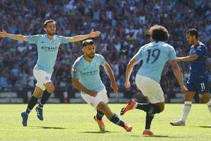 Aguero thi đấu như 'lên đồng', Man City giành siêu cup Anh lần thứ 5 trong lịch sử
