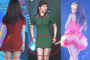 Stylist của Red Velvet lại hứng gạch đá vì để nhóm ăn mặc quá hớ hênh trên sân khấu