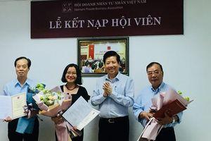 Hội Doanh nhân Tư nhân Việt Nam kết nạp hội viên mới