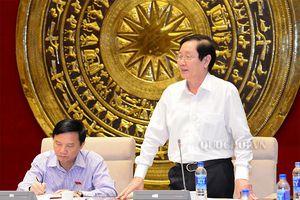 Ủy ban Pháp luật thẩm tra sơ bộ việc triển khai Nghị quyết 56