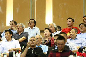 Chủ tịch Quốc hội Nguyễn Thị Kim Ngân dự khán trận U23 Việt Nam và U23 Uzbekistan