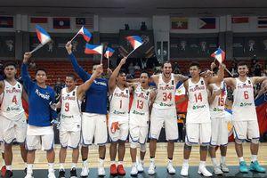 Tuyển bóng rổ Philippines rút lui rồi lại dự ASIAD 18