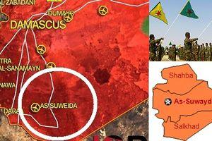 Mượn cớ đánh IS, YPG xuống nam Syria chiếm As-Suwayda?