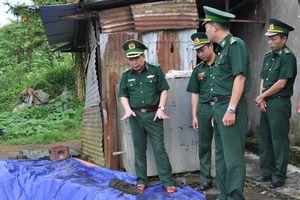 Lai Châu: Mưa lũ đe dọa các công trình đồn, trạm Biên phòng, đường tuần tra biên giới