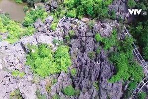 Ninh Bình: Công trình trái phép ở núi Cái Hạ vẫn còn ngổn ngang