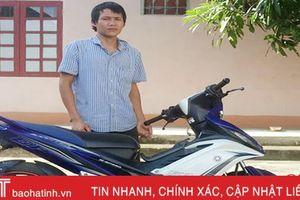 Công an huyện Đức Thọ phá nhanh vụ trộm xe máy