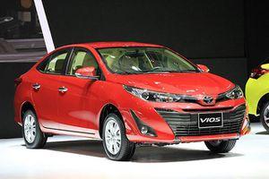 Chi tiết xe sedan Toyota, giá từ 531 triệu đồng tại Việt Nam
