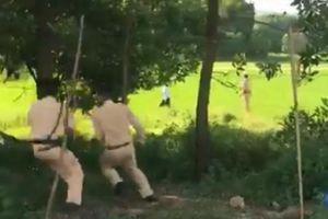 Nghẹt thở cuộc chặn bắt ô tô nghi vận chuyển ma túy liều lĩnh tông xe CSGT để bỏ trốn