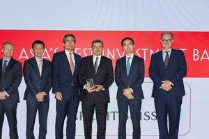 Credit Suisse nhận Giải thưởng ngân hàng đầu tư tốt nhất châu Á