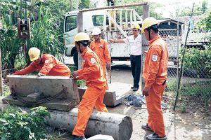 Bảo đảm an toàn điện mùa mưa bão