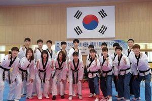 Hàn Quốc đặt mục tiêu 9 huy chương vàng môn taekwondo tại ASIAD