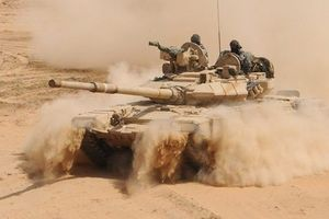 Nga dội lửa, 'Quả đấm thép' Syria tung đòn đánh diệt IS trên hoang mạc Sweida