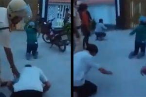 Dân quỳ trước nhà Chủ tịch huyện: Điều tra việc gây rối