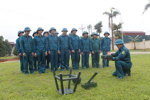 Dân quân Yên Bình tích cực luyện rèn