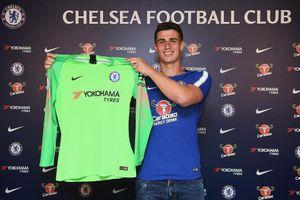 Chelsea ra mắt thủ môn đắt giá nhất thế giới