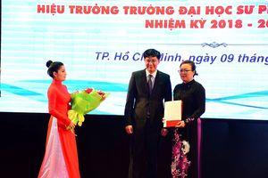 Nữ tiến sĩ Minh Hồng làm hiệu trưởng Đại học Sư phạm TPHCM